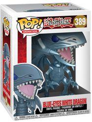 Figurine En Vinyle Dragon Blanc Aux Yeux Bleus 389