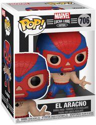 El Aracno - Marvel Luchadores - Funko Pop! n°706